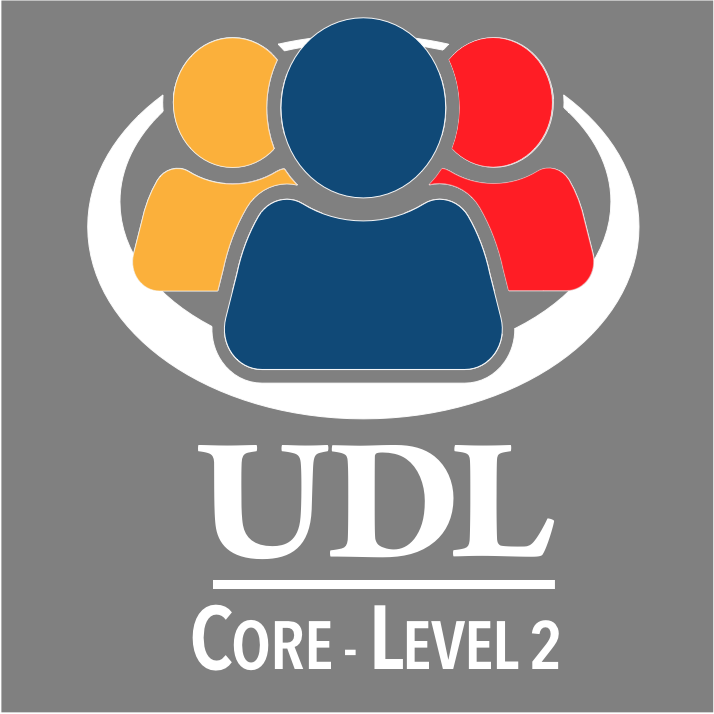 UDL Core Foundation - Level 2 badge