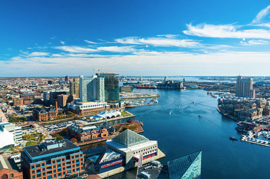 a city picture of Maryland
