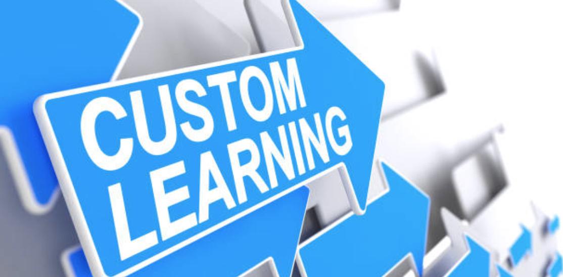 custom learning arrow