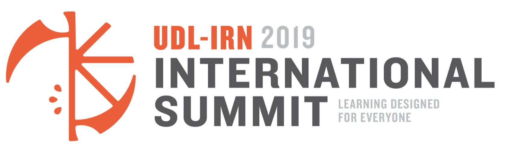 UDL-IRN 2019 International Summit Logo