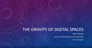 The Gravity of Digital Spaces