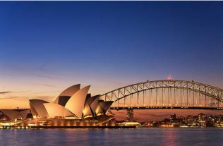 A scenic picture of Australia