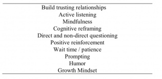 Ten most effective mentoring strategies for executive functioning