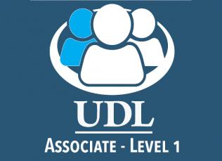 Associate level 1 credential logo